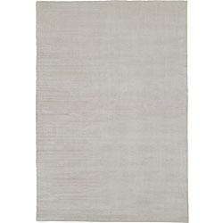 Nourison Calvin Klein Grey Wool/Silk Rug (5'6 x 8')