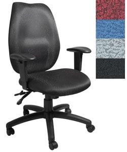 Boss High-back Adjustable Ergonomic Nylon Executive Office Chair