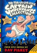 The Tra-la-laa-riffic Captain Underpants Collection: The Adventures of Captain Underpants/Captain Underpants and ... (Paperback)