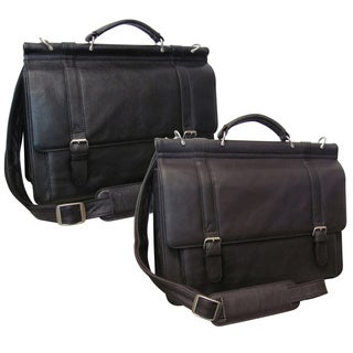 Amerileather Dowel Rod Briefcase