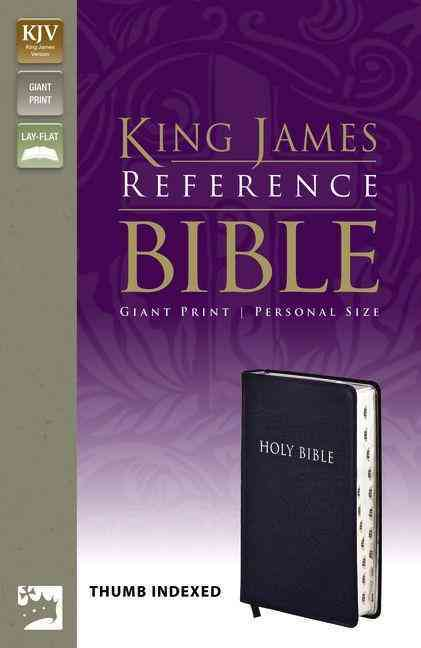 Holy Bible: King James Version, Navy, Bonded Leather, Giant-print Reference, Personal Size, Thumb Indexed (Hardcover)