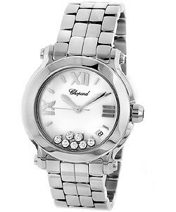 Chopard Happy Sport Women's Stainless Steel Watch