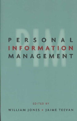 Personal Information Management (Paperback)