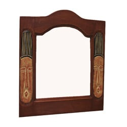 Handcrafted Fanti Mirror (Ghana)