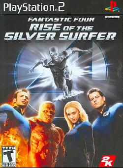 PS2 - Fantastic 4: Rise of the Silver Surfer
