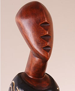 Obaa Pa Princess Sculpture, Handmade in , Handmade in Ghana