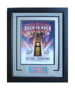 Florida Gators Back-to-Back Deluxe Framed Print