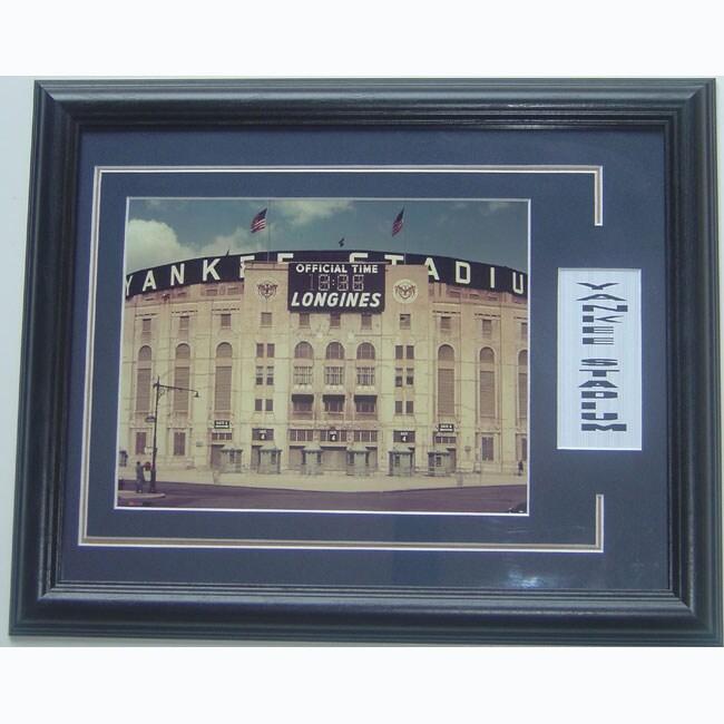 Yankee Stadium 'The House that Ruth Built' Deluxe Framed Print