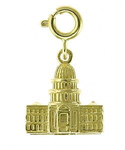 14k Gold 3-D US Capitol Building