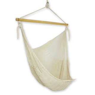 Hammock Large Deluxe Deserted Beach Swing, Handmade in , Handmade in Mexico