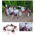 Garnet and Rose Quartz Bracelet (Thailand)