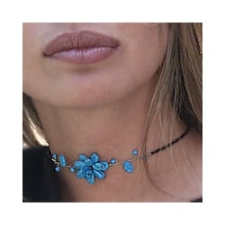 Delicate in Blue Choker (Thailand)