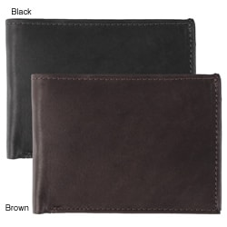 Boston Traveler York Collection Bi-Fold Wallet
