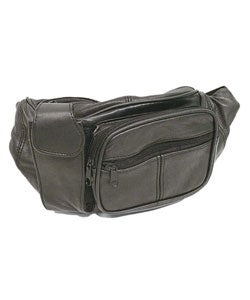 Boston Traveler Genuine Leather Fanny Pack