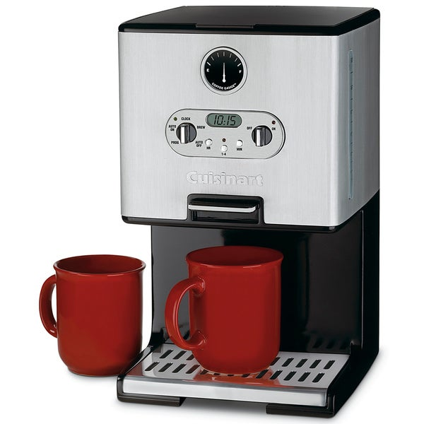 Cuisinart Coffee Maker Coffee On Demand : Cuisinart DCC-2000FR Coffee On Demand Coffee Maker (Refurbished) - 10688292 - Overstock.com ...