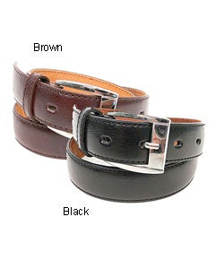 Boston Traveler Genuine Leather Boy's Belt