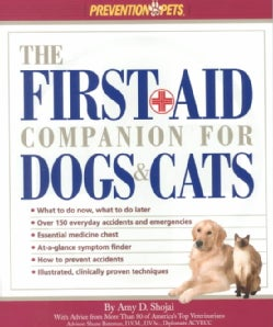 The First Aid Companion for Dogs & Cats (Paperback)