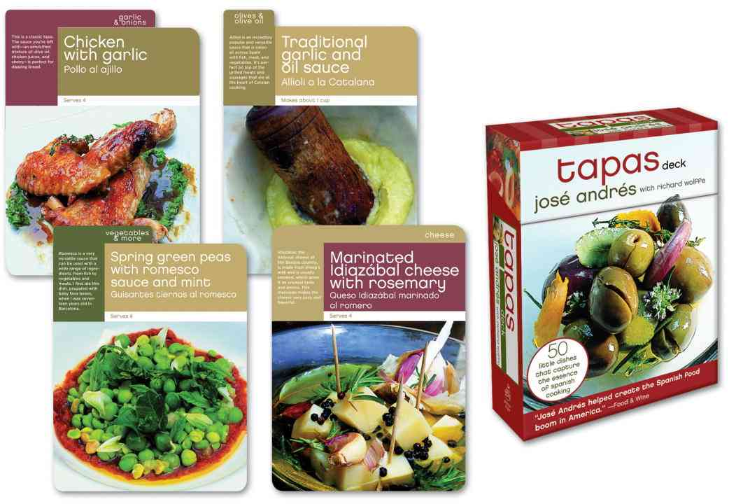 Tapas Deck: 50 Little Dishes That Capture the Essence of Spanish Cooking (Cards)