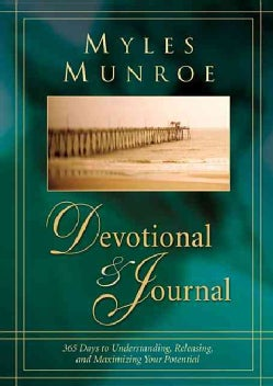 Myles Munroe Devotional & Journal: 365 Days to Realize Your Potential (Hardcover)