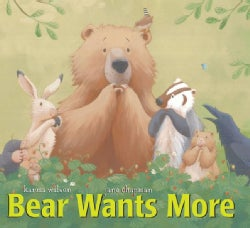 Bear Wants More (Board book)