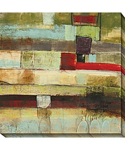 Jane Bellows 'Incidental II' Canvas Art