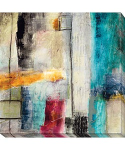 Jane Bellows 'Impulse I' Canvas Art