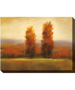 Caroline Ashton Autumn Dusk I Canvas Art