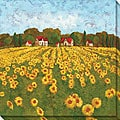 Gallery Direct Cecile Broz Sunflower Vista I Canvas Art