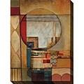 DeRosier 'Diaagraphic III' Giclee Canvas Art
