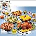 Anchor Hocking 34-piece Glass Ovenware Set