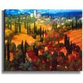 Tuscan Castle by Philip Craig Stretched Canvas Art
