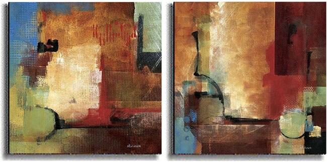 Discoveries & Crosscurrents by Li-Leger Canvas Set