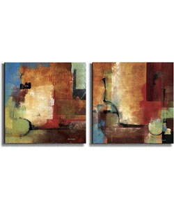 Discoveries & Crosscurrents by Li-Leger Canvas Set