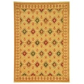 Fine-spun Regal Cream/ Multi Area Rug (6'7 x 9'6)