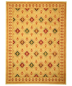 Safavieh Fine-spun Regal Cream/ Multi Area Rug (7'10 x 11')