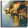 Reflejos en el Lago by Roldan Stretched Canvas Art