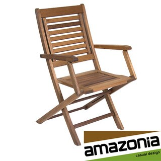 Parati Wooden Folding Chair (Set of Two)