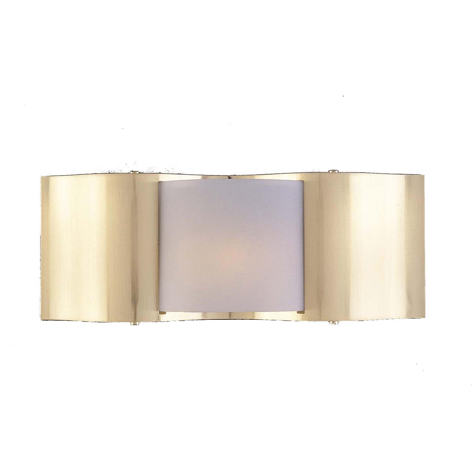 Metro II 1-light Satin Brass Halogen Wall Sconce