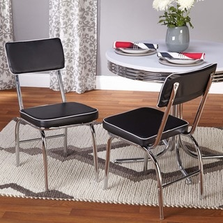 Simple Living Bistro Retro Chair (Set of 2)