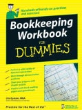 Bookkeeping Workbook for Dummies (Paperback)