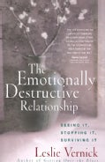 The Emotionally Destructive Relationship (Paperback)