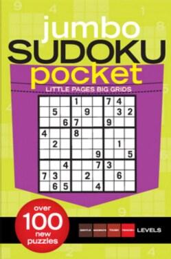 Jumbo Sudoku Pocket (Paperback)