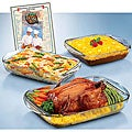 Anchor Hocking Expressions 5-piece Ovenware Set