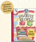 My Favorite Recipes: A Create Your Own Cookbook! (Spiral bound)