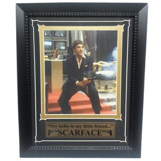 Scarface Custom Frame Poster