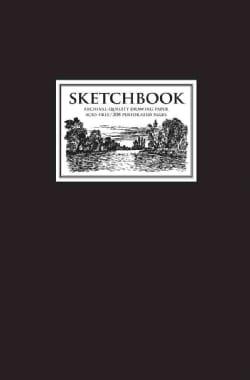 Sketchbook: Black Medium (Hardcover)