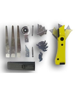 20-piece Multi-position Utility Knife Set