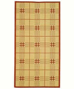 Safavieh Indoor/ Outdoor Regal Natural/ Terracotta Rug (2' x 3'7)