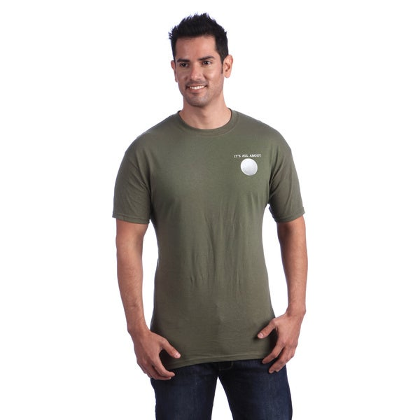 It's All About Golf Men's Green T-shirt