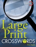 Large Print Crosswords (Spiral bound)